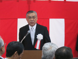 橋本学校長の挨拶
